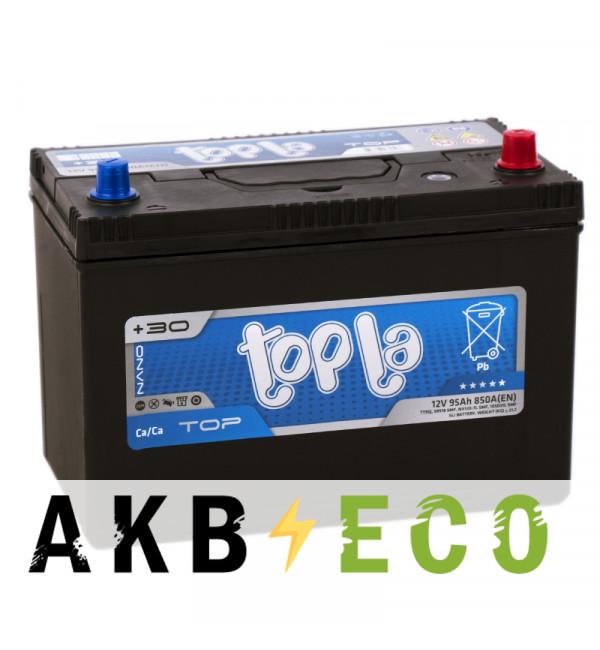 Автомобильный аккумулятор Topla Top JIS 95R 850А 301x175x220 (118895 59518)