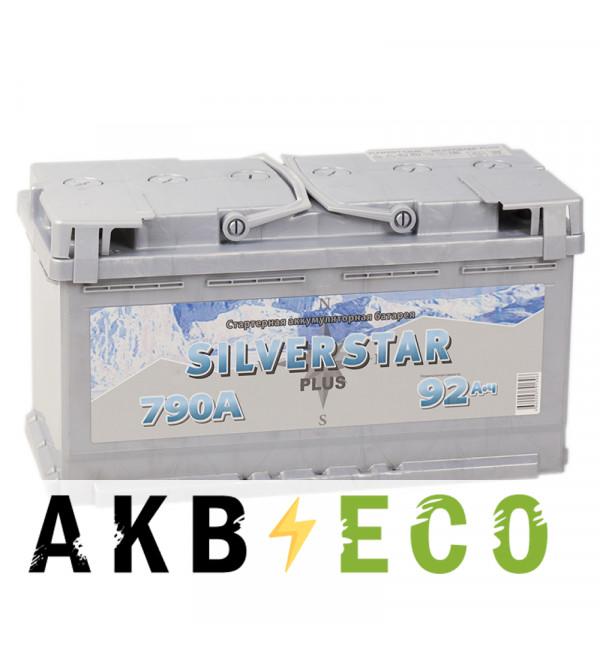 Автомобильный аккумулятор Silverstar Plus 92L 790A 353x175x190