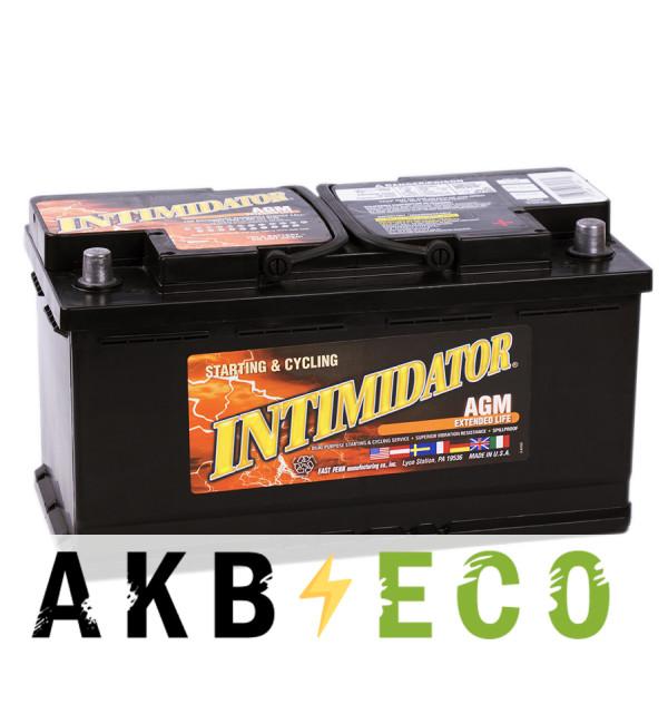 Автомобильный аккумулятор Deka Intimidator AGM 100R (9A49 850A 353x175x190)