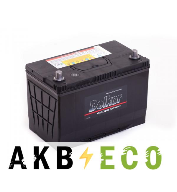 Автомобильный аккумулятор Delkor 115D31R (100L 800A 306x173x225)