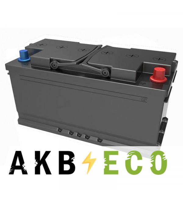 Автомобильный аккумулятор Подменный L5B обр. пол. (353x175x175) низкий 90-100 Ач