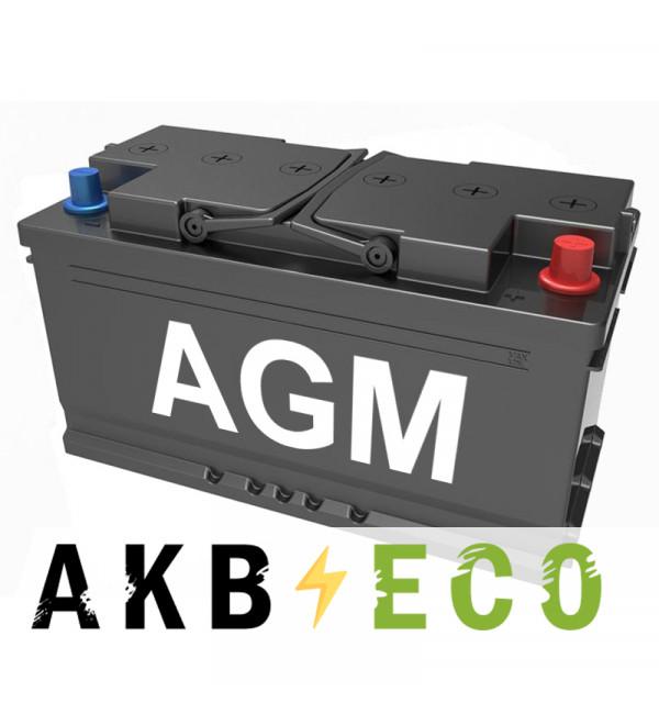 Автомобильный аккумулятор Подменный L5 AGM обр. пол. (353x175x190) 92-95 Ач