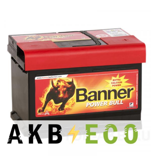 Автомобильный аккумулятор BANNER Power Bull (60 09) 60R 540A 242x175x175