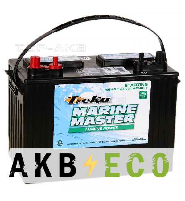 Автомобильный аккумулятор Deka Marine Master 27M6 105 Ач 840A п.п. (306x175x225) cтартерный