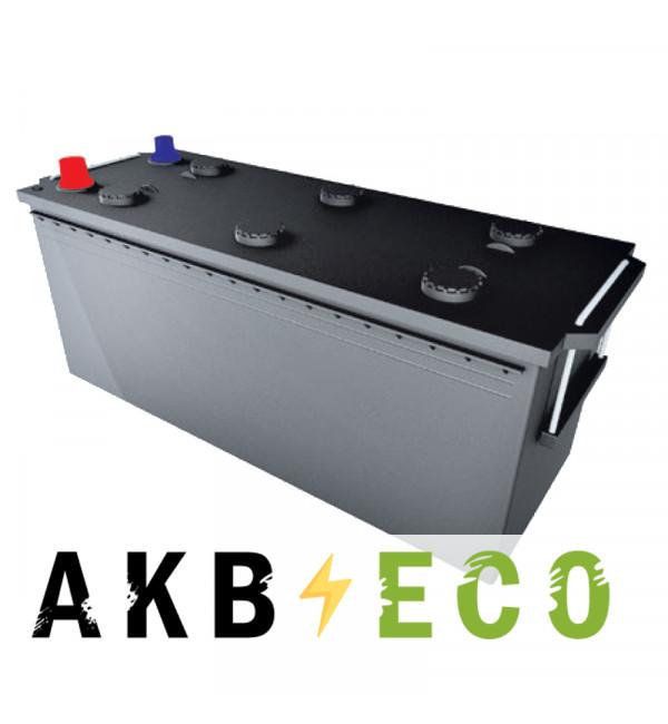 Автомобильный аккумулятор Подменный 132-140 Ач прям. пол. (513x189x217) плюс справа