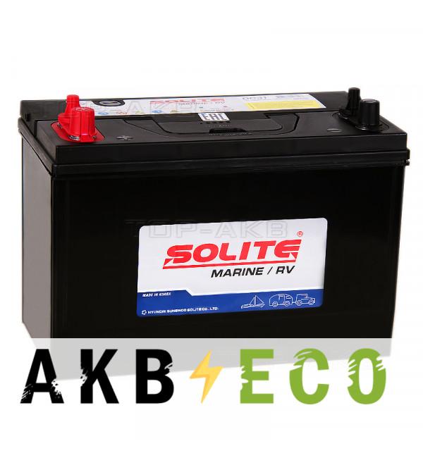 Автомобильный аккумулятор Solite MARINE DC31 (105 Ah 700A 330x173x240)