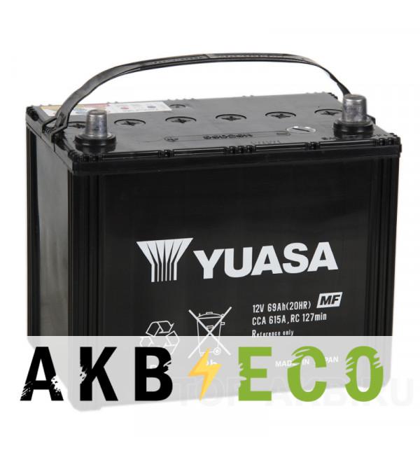 Автомобильный аккумулятор YUASA 85D26L (69R 615A 260x173x225)