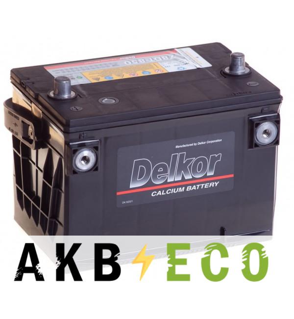 Автомобильный аккумулятор Delkor 78DT850 4 кл. (95L 850A 261x175x200)
