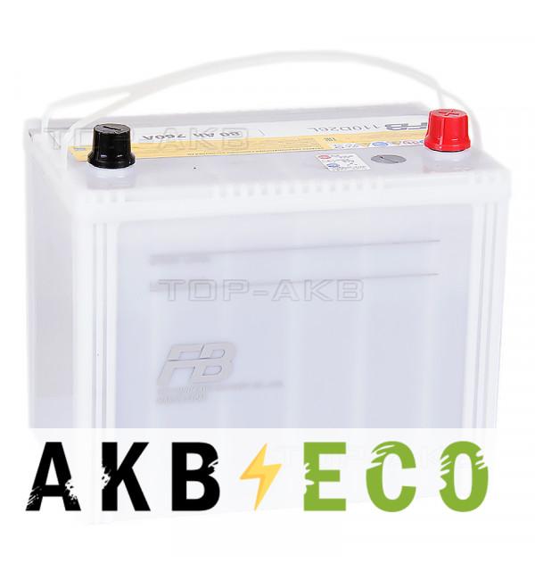 Автомобильный аккумулятор FB9000 110D26L (80R 760A 261x173x225)