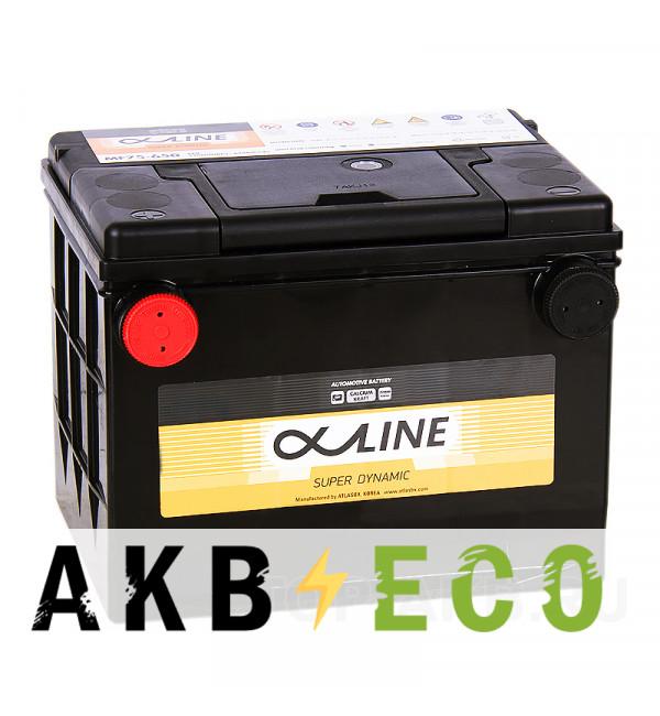 Автомобильный аккумулятор Alphaline SD 75-650 80L 650A 232x175x180 боковые клеммы