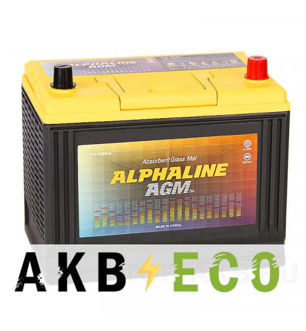 Автомобильный аккумулятор Alphaline AGM D26L 75R 720A 260x172x220 Start-Stop