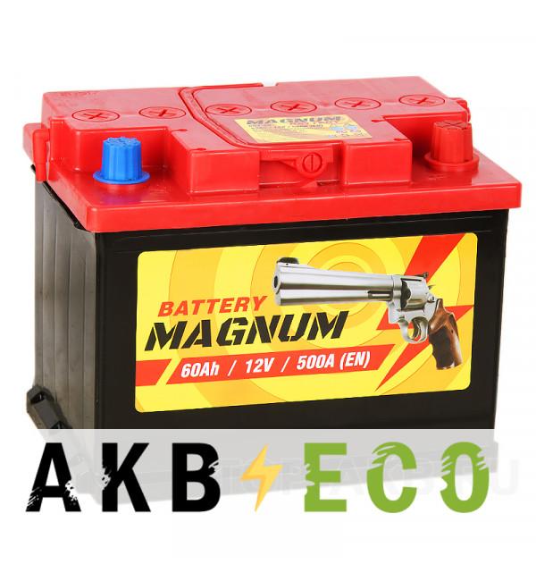 Автомобильный аккумулятор Magnum 60R 500A 242x175x190