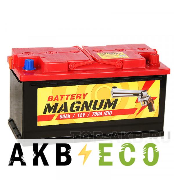 Автомобильный аккумулятор Magnum 90R 700A 353x175x190