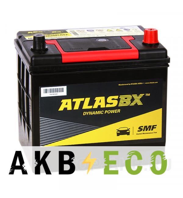 Автомобильный аккумулятор Atlas Dynamic Power 75D23L (65R 580A 232x173x225)