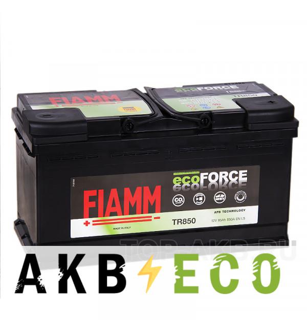 Автомобильный аккумулятор Fiamm Ecoforce AFB 95R 850A (353x175x190) EFB Start-Stop TR850