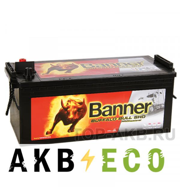 Автомобильный аккумулятор BANNER Buffalo Bull SHD PROfessional (680 08) 180 евро 1000A 514x223x220