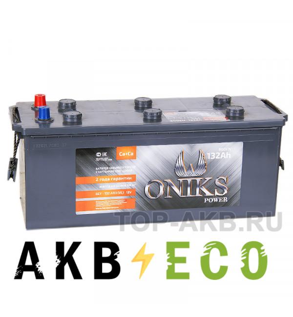 Автомобильный аккумулятор ONIKS 132 евро 900A (513x189x223)