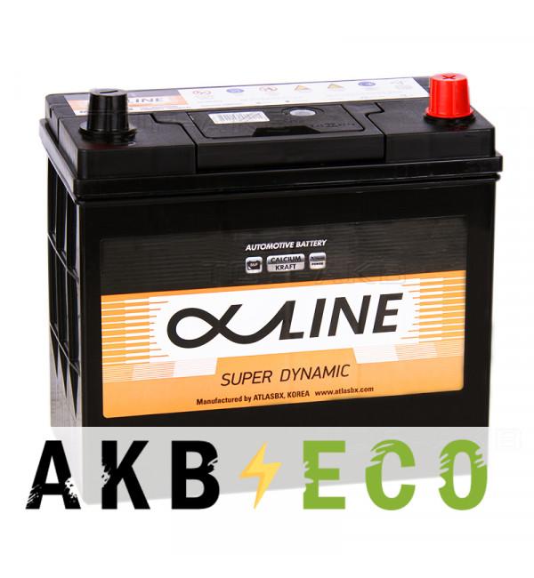 Автомобильный аккумулятор Alphaline SD 70B24LS 55R 500A 232x127x220