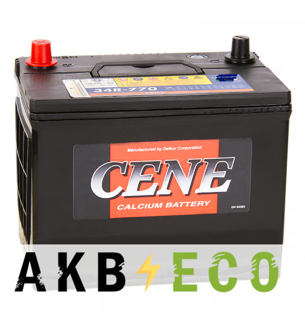 Автомобильный аккумулятор Cene 34R-770 (90R 770A 260x173x225)