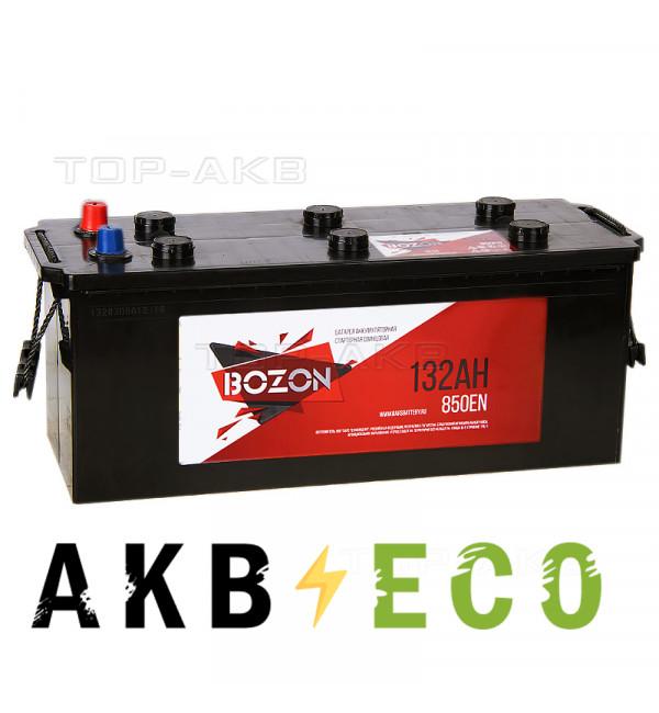 Автомобильный аккумулятор Bozon 132 евро 850A (513x189x223)