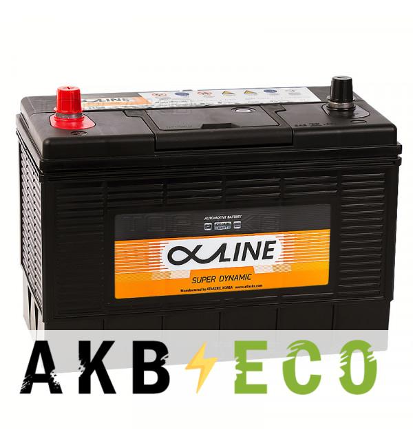 Автомобильный аккумулятор Alphaline SD 31-1000 прямая пол. 1000А (330x173x240) конус