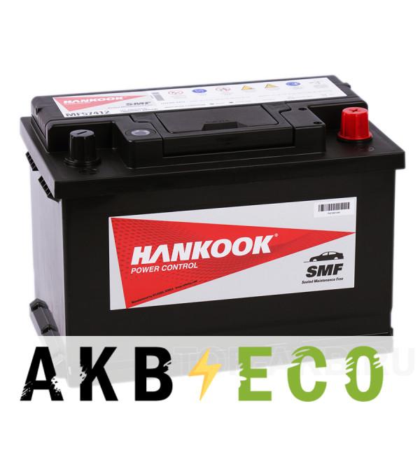 Автомобильный аккумулятор Hankook 57412 (74R 680A 278х174х190)