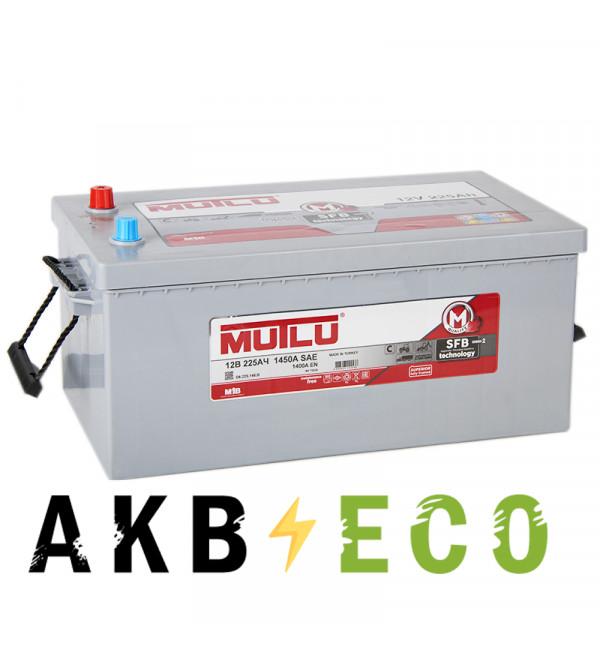 Автомобильный аккумулятор Mutlu 220 евро 1400A 517х273х240