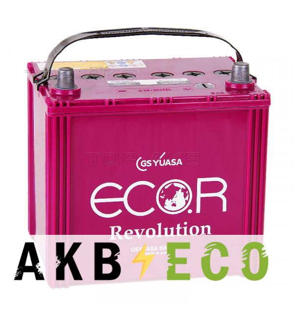 Автомобильный аккумулятор GS YUASA ER-Q-85 95D23L (70R 650A 233x173x227) ECO.R Revolution Start-Stop