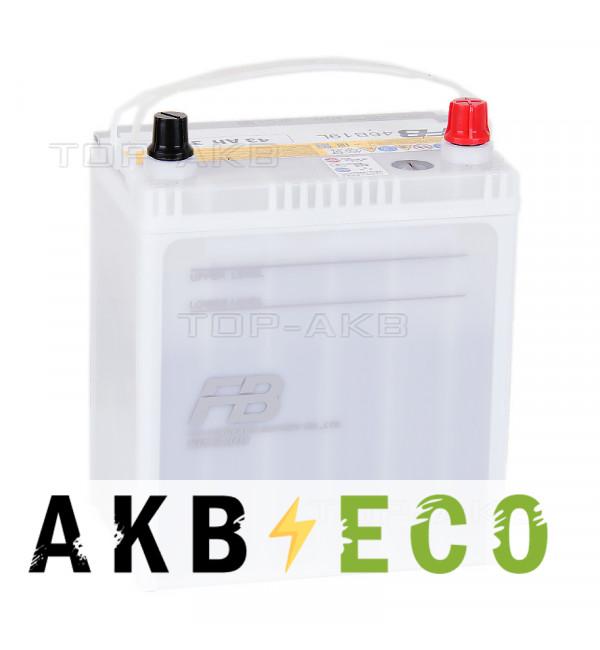 Автомобильный аккумулятор FB9000 46B19L (43R 370A 189x129x225)