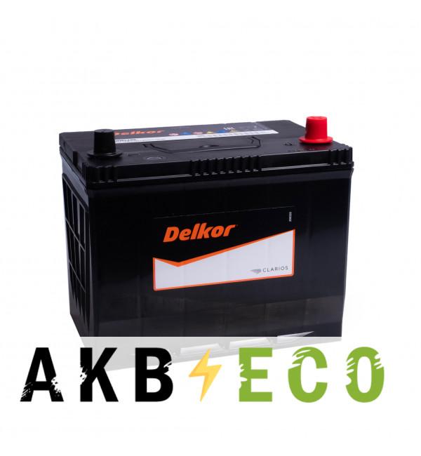 Автомобильный аккумулятор Delkor 90D26L (80R 680A 260x173x225)