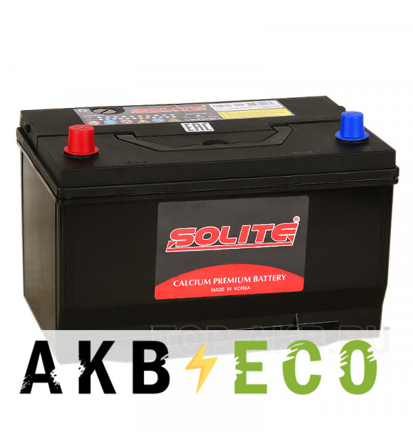 Автомобильный аккумулятор Solite 65-820 Ford Explorer (100L 820A 306x190x192)
