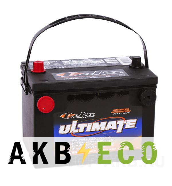Автомобильный аккумулятор Deka 95L (778DT 800A 261x175x200) 4 клеммы