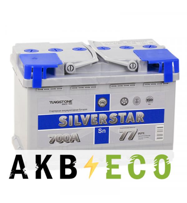 Автомобильный аккумулятор Silverstar 77L 700A 276x175x190