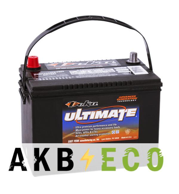 Автомобильный аккумулятор Deka 734RMF 12V 85Ah (800A 260x171x200) обратная пол.