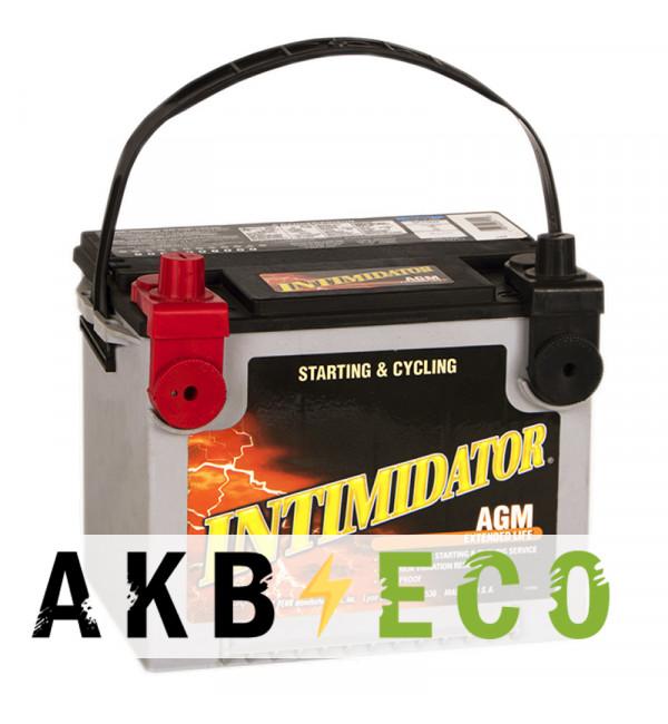 Автомобильный аккумулятор Deka Intimidator AGM 68L 4 клеммы (9А75DT 680A 230x171x200)