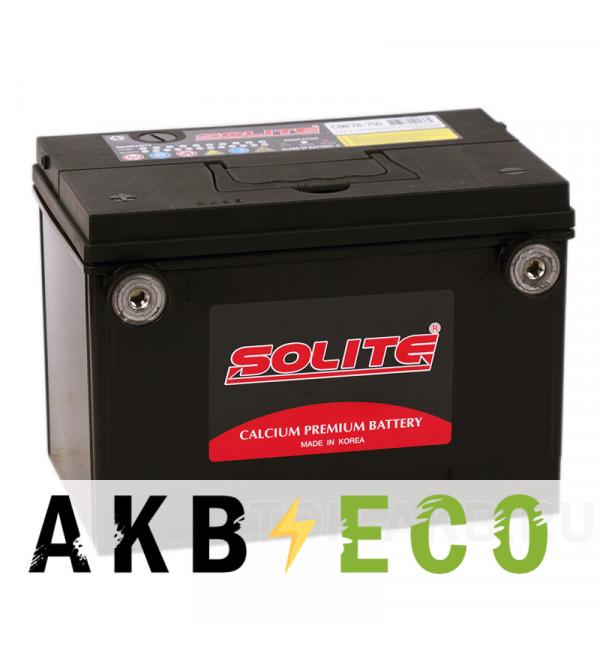 Автомобильный аккумулятор Solite 75-650 (75L 630А 230x179x184) боковые клеммы