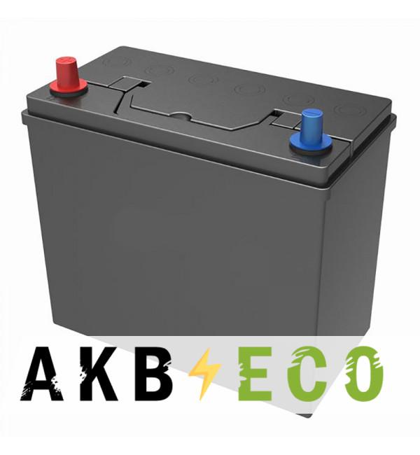 Автомобильный аккумулятор Подменный B24R прям. пол. (238x129x227) узкие кл. 45-50 Ач