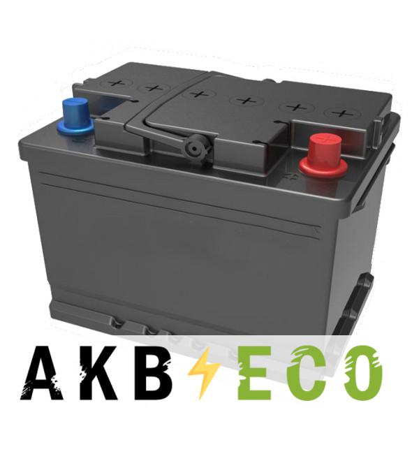 Автомобильный аккумулятор Подменный L2B обр. пол. (242x175x175) низкий 52-62 Ач