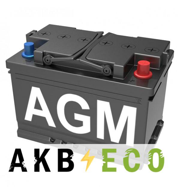 Автомобильный аккумулятор Подменный L3 AGM обр. пол. (278x175x190) 68-70 Ач