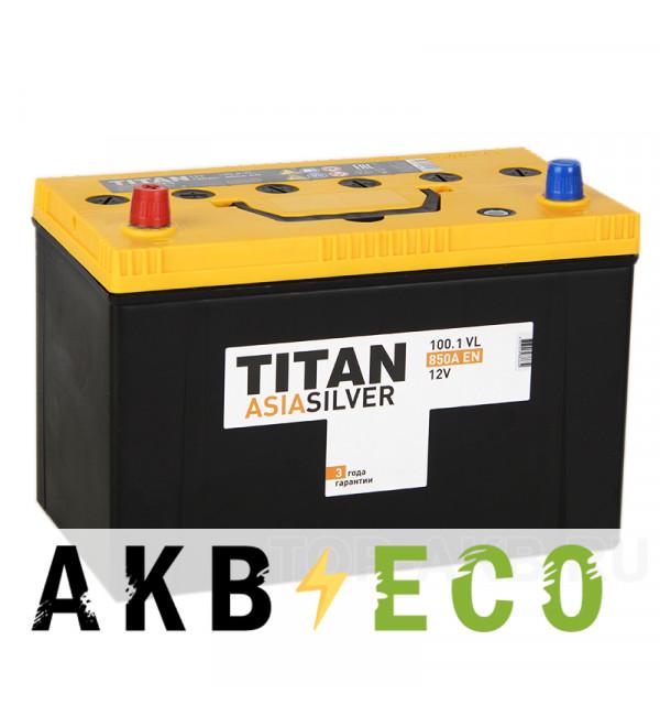 Автомобильный аккумулятор Titan Asia Silver 100L (850А 304x171x221)