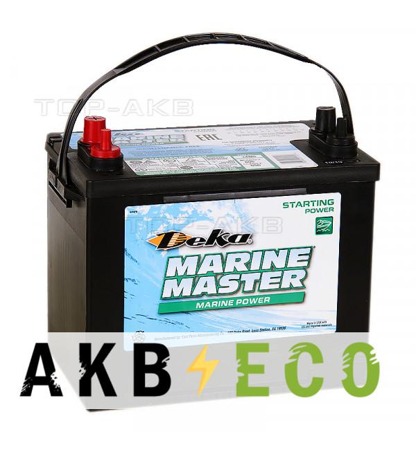 Автомобильный аккумулятор Deka Marine Master 24M6 80 Ач 675A п.п. (260x173x225) cтартерный