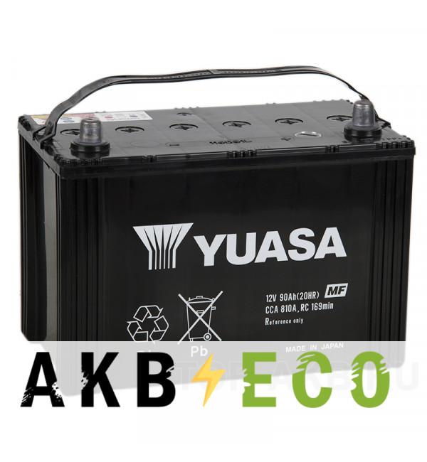 Автомобильный аккумулятор YUASA 115D31R (90L 810A 305x173x225)