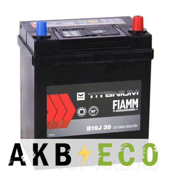 Автомобильный аккумулятор Fiamm Asia 38R 300A 187x127x225