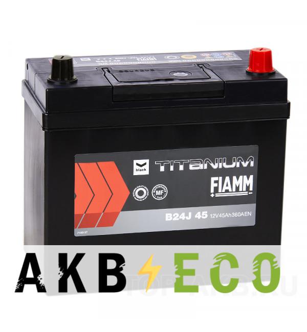 Автомобильный аккумулятор Fiamm Asia 45R 360A 238x129x225