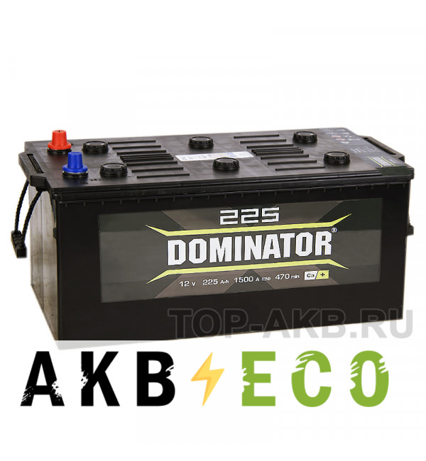 Автомобильный аккумулятор Dominator 225 евро 1500А 513x278x223