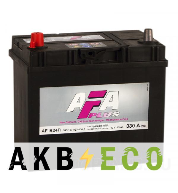 Автомобильный аккумулятор AFA Plus 45L 330A 238x129x227 узкие кл. AF-B24R