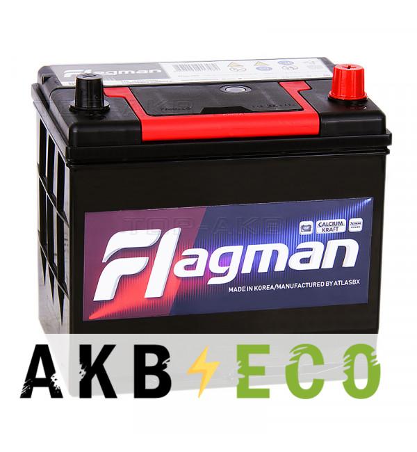 Автомобильный аккумулятор Flagman 85D23L 70R 620A 232x172x220