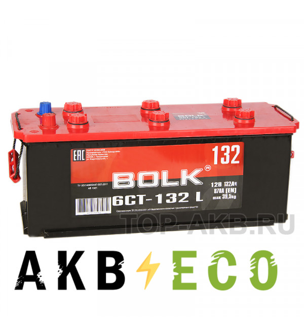 Грузовой аккумулятор BOLK 132 рус 870A 513x189x223 AB1321