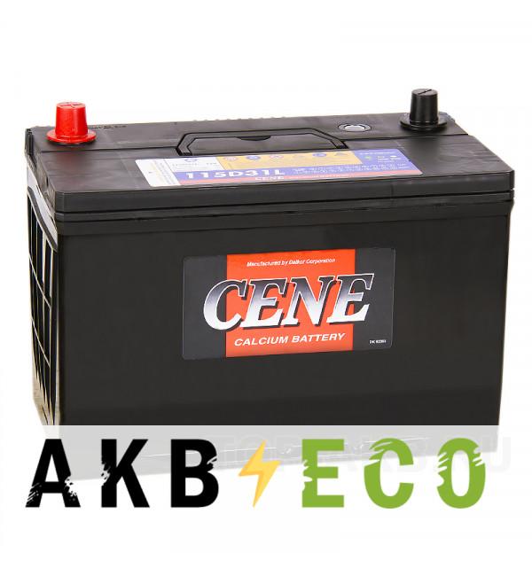 Автомобильный аккумулятор Cene 115D31L (100R 800A 306x173x225)