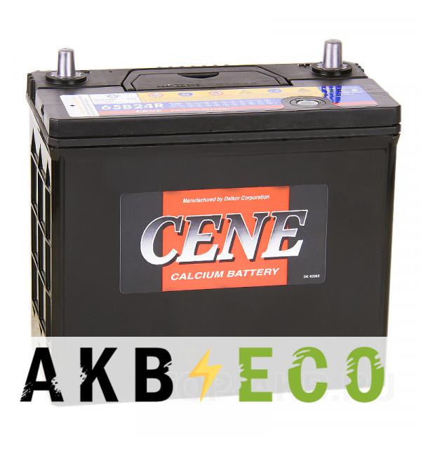 Автомобильный аккумулятор Cene 65B24R (55L 490A 238x128x227)